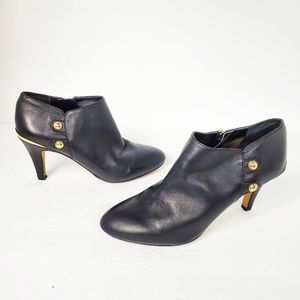 Vince Camuto Vemmey black leather booties 8.5M